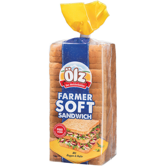 Grosspackung Ölz Farmer Soft Sandwich 6 x 750 g = 4,5 kg