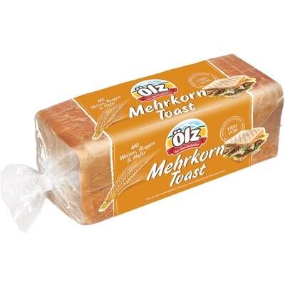 Grosspackung Ölz Mehrkorn Toast 8 x 500 g = 4kg