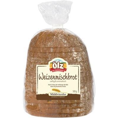 Grosspackung Ölz Mühlviertler Weizenmischbrot 6 x 500 g = 3 kg