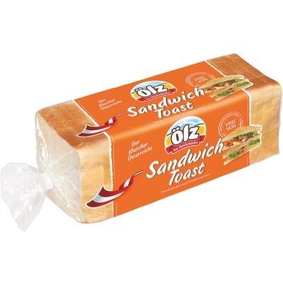 Grosspackung Ölz Sandwich Toast 8 x 500 g = 4 kg