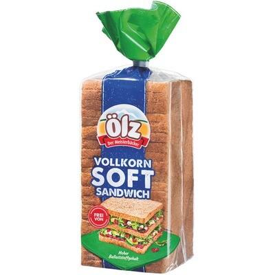Grosspackung Ölz Vollkorn Soft Sandwich 6 x 750 g = 4,5 kg