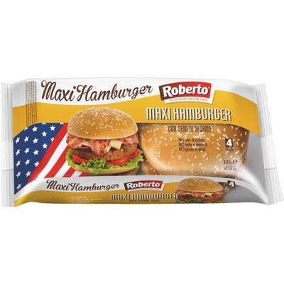 Grosspackung Roberto Maxi Hamburger Sesam 8 x 300 g = 2,4 kg