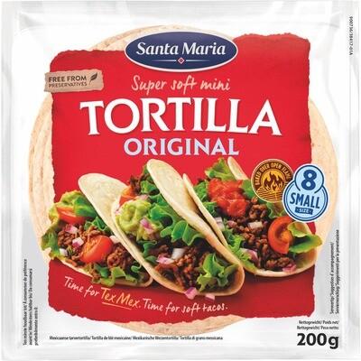 Grosspackung Santa Maria Mini Tortilla 14 x 200 g = 2,8 kg