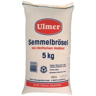 Grosspackung Ulmer Semmelbrösel im Stoffsack 5 kg