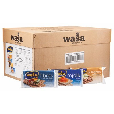 Grosspackung Wasa Knäckebrot Sortiment 100 Stk.