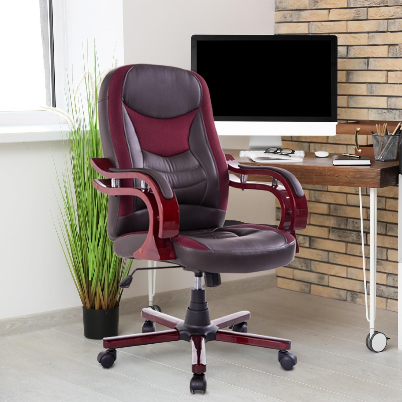 HOMCOM® Bürostuhl Drehstuhl Chefsessel Schreibtischstuhl