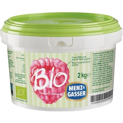 Grosspackung Menz&Gasser Bio Konfitüre Himbeere 2kg