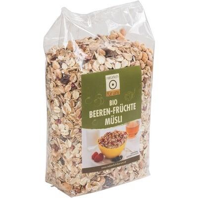 Grosspackung Natürlich für uns Bio Beerenmüesli 10 x 500g = 5 kg