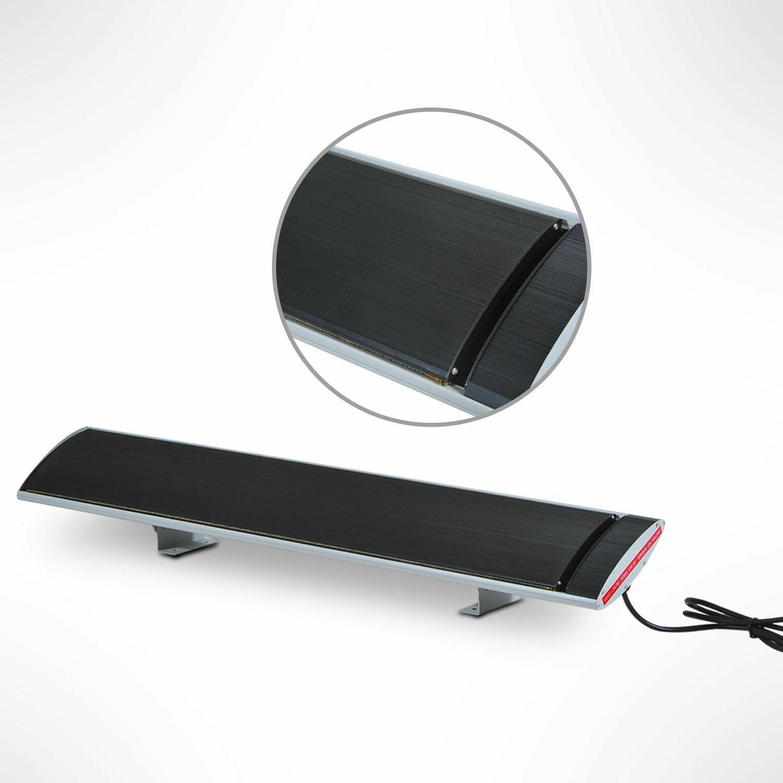 Outsunny® Elektrischer Infrarot Heizstrahler für Innen-/Aussenbereich 1500W