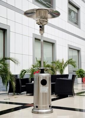 Outsunny® Edelstahl Gas-Heizstrahler / Heizpilz 5 - 12KW