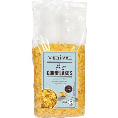 Grosspackung Verival Bio Cornflakes ungesüßt 4 x 500 g = 2 kg