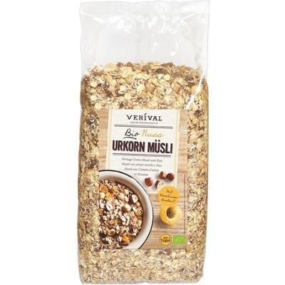 Grosspackung Verival Bio Urkorn Müesli Nuss 4 x 2 kg = 8 kg