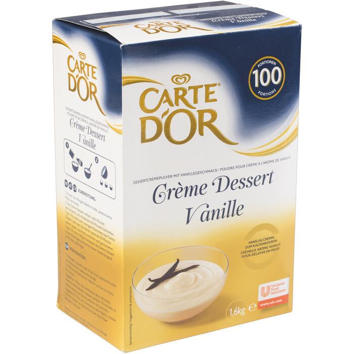 Grosspackung Carte D'Or Creme Dessert Vanille 1,6 kg