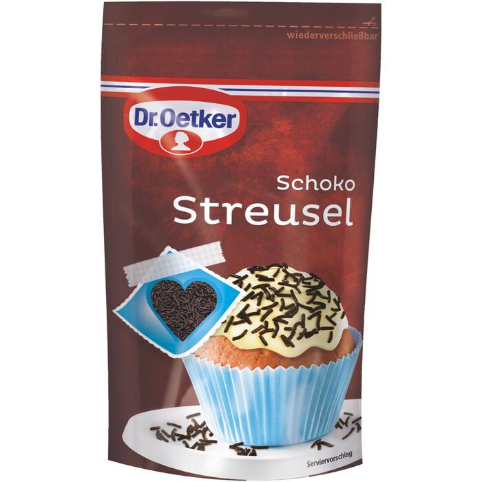 Grosspackung Dr. Oetker Decor Schoko Streusel 10 x 100 g = 1 kg