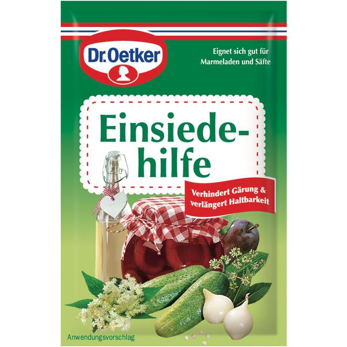 Grosspackung Dr. Oetker Einsiedehilfe 18 x 3er