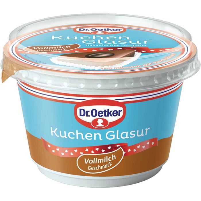 Grosspackung Dr. Oetker Tortenglasur Schokolade Vollmilch 12 x 200 g = 2,4 kg