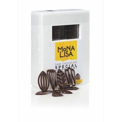 Mona Lisa Schokolade-Dekor dunkel längl. sort. 235 g