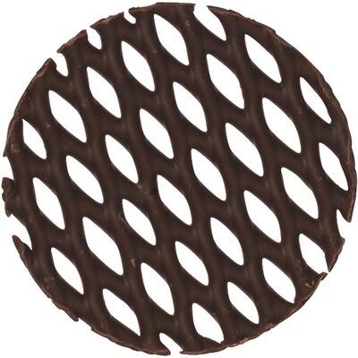 Mona Lisa Schokolade-Dekor dunkel rund 195 Stk.