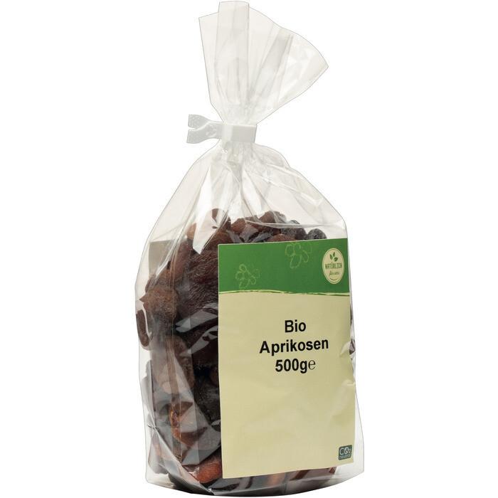 Grospackung natürlich für uns Bio Aprikosen 10 x 500 g = 5 kg