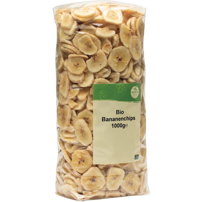 Grosspackung natürlich für uns Bio Bananenchips 10 x 1 kg = 10 kg
