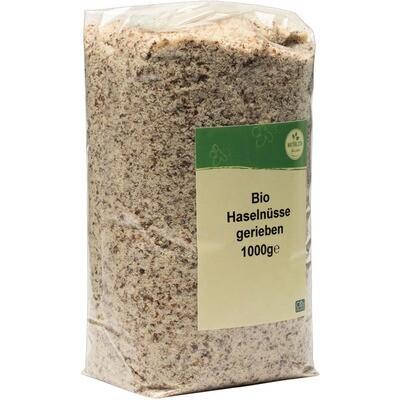 Grosspackung natürlich für uns Bio Haselnüsse gerieben 1 kg
