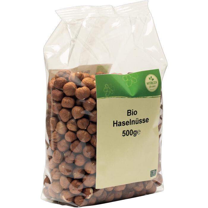 Grosspackung natürlich für uns Bio Haselnüsse 10 x 500 g = 5 kg