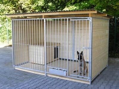 SAUERLAND Hundezwinger / Rohrstabzwinger 3 seitig geschlossen, Sonderserie