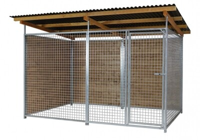 SAUERLAND Gitter-Hundezwinger, 2-seitig geschlossen,