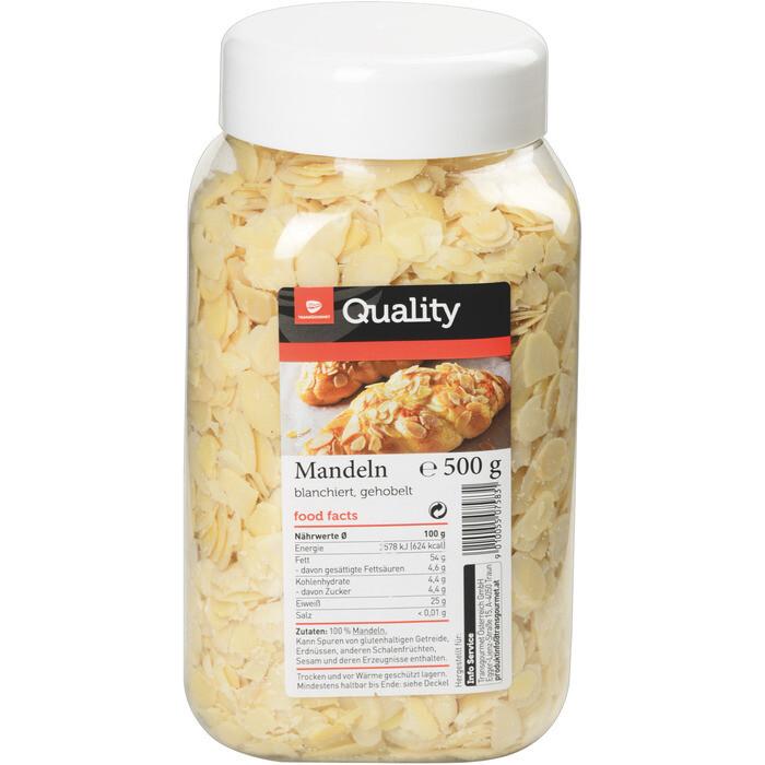 Quality Quality Mandeln gehobelt 500 g