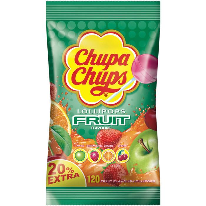 Grosspackung Chupa Chups Fruchtlutscher 120 Stk.