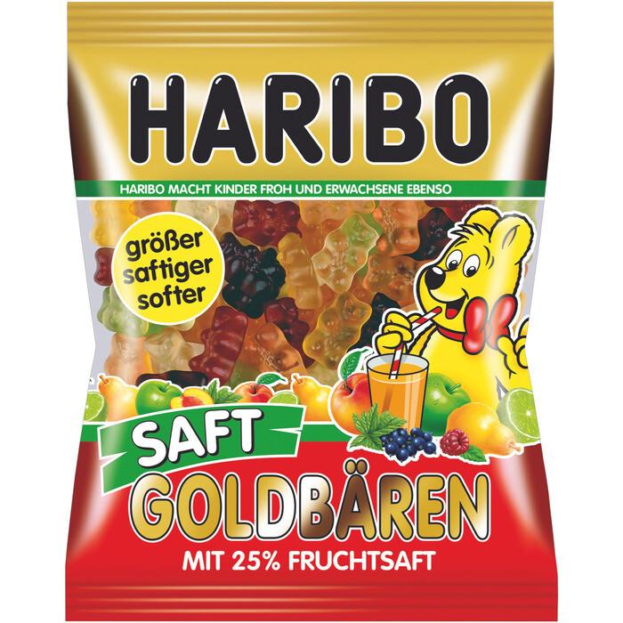 Grosspackung Haribo Saft Goldbären 30 x 175 g = 5,25 kg