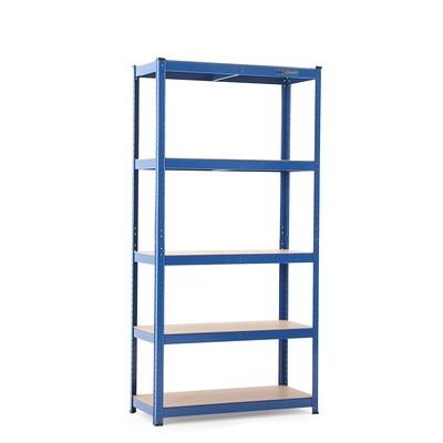 MAXCRAFT Schwerlastregal bis zu 875 kg - Blau