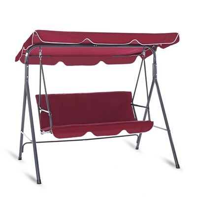 Strattore Hollywoodschaukel Gartenschaukel 170 x 115 x 153 cm - Spicy Cherry