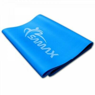 SAMAX Stretch Band 120 x 15 cm / 0,5 mm in Blau