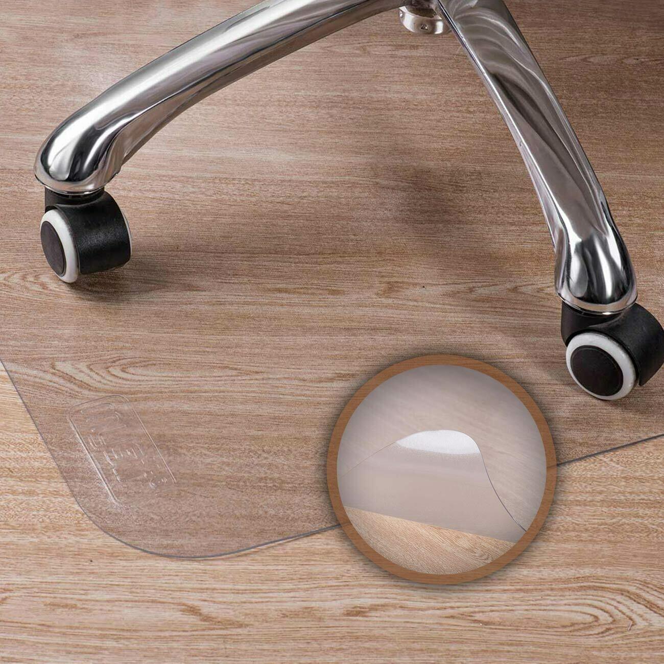 MY SIT 120 x 150 cm Bodenschutzmatte / Bürostuhlunterlage transparent für Hartböden