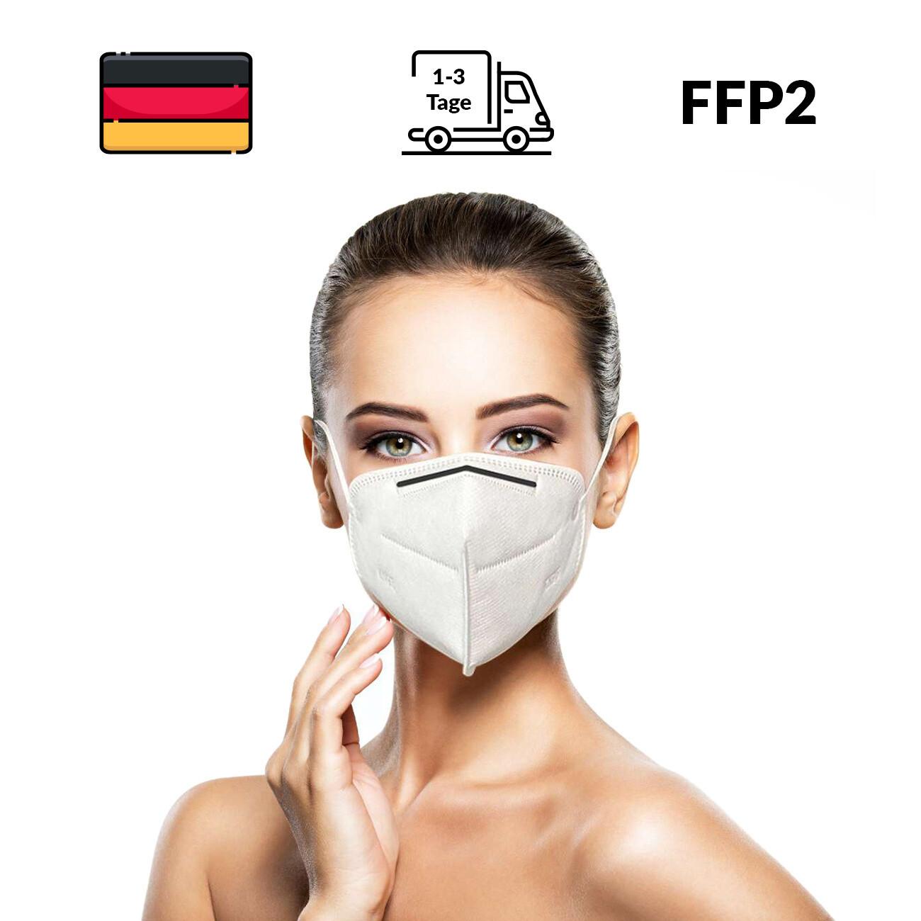 Atemschutz - KN95 Masken / FFP2 Schutzmasken - 20 Stück