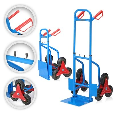 MAXCRAFT Sackkarre Transportkarre Treppenkarre Zügelhilfe bis 200 kg