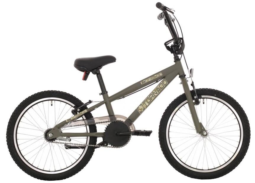Tornado BMX Velo / Fahrrad 16 Zoll Junior Rücktrittbremse Khaki