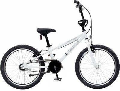 Bike Fun BMX Cross Tornado 20 Zoll Junior Rücktrittbremse Weiss