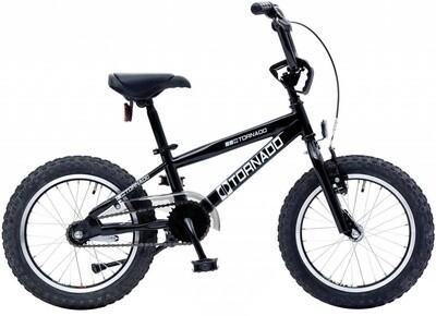 Bike Fun BMX Cross Tornado 16 Zoll Junior Rücktrittbremse schwarz
