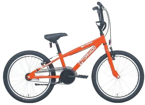Bike Fun BMX Cross Tornado 20 Zoll Junior Rücktrittbremse rot
