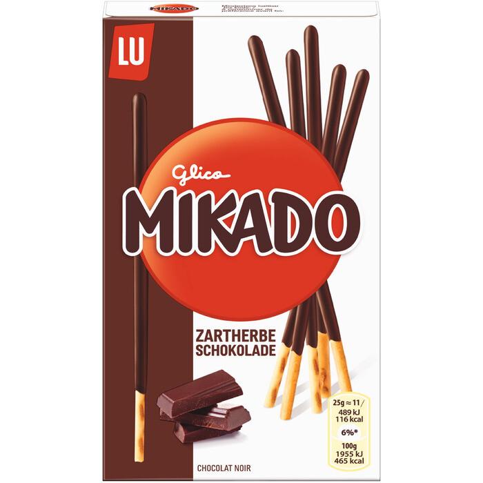 Grosspackung Mikado Zartbitter Schokolade 24 x 75 g = 1,8 kg