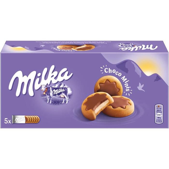 Grosspackung Milka Kekse Choco Minis 16 x 185 g = 2,96 kg