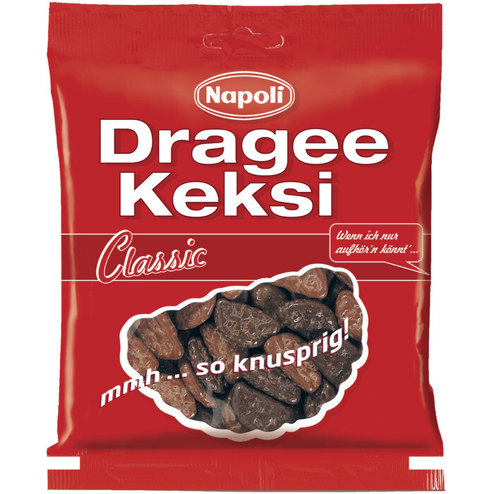 Grosspackung Napoli Dragee Keksi Classic 18 x 165 g = 2,97 kg