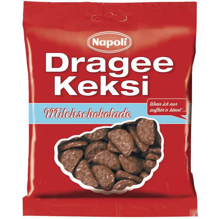 Grosspackung Napoli Dragee Keksi Milch 18 x 165 g = 2,97 kg