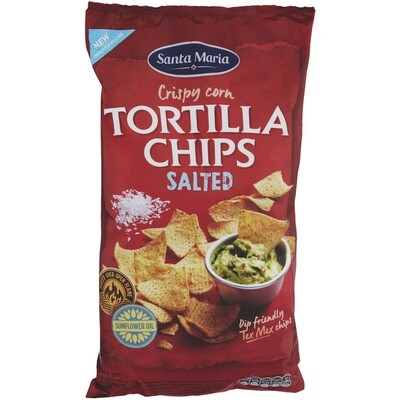 Grosspackung Santa Maria Tortilla Chips Salted 12 x 475 g = 5,7 kg