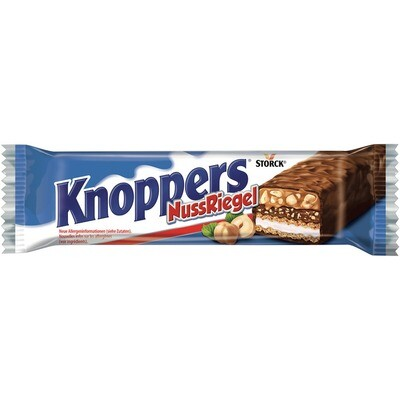 Grosspackung Storck Knoppers Nussriegel Single 24 x 40 g = 0,96 kg