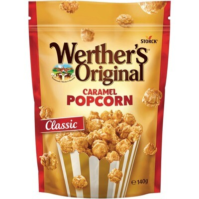 Grosspackung Storck Werther´s O. C. Popcorn Classic 12 x 140 g = 1,68 kg