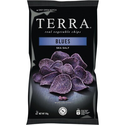Grosspackung Terra Chips Blues 12 x 110g = 1,32 kg
