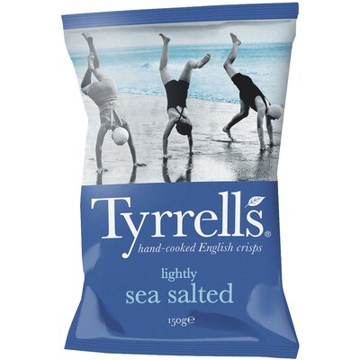 Grosspackung Tyrrells Chips Sea Salted 12 x 150 g = 1,8 kg